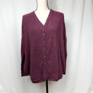 Urban Outfitters Out From Under Striped Cardigan S